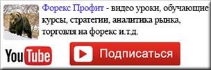 Видео канал на YouTube-Форекс Профит